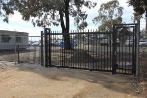 automatic sliding gate menai police dog squad 1