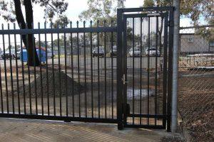 automatic sliding gate menai police dog squad 2