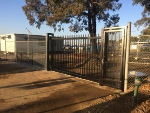 automatic sliding gate menai police dog squad 3